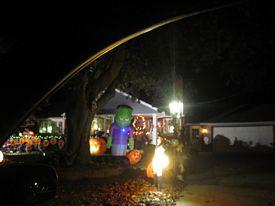 Halloween displays 2016