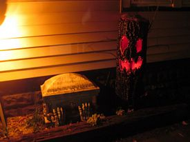 Halloween displays 2016