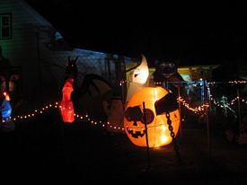 Halloween displays 2015