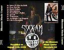 Sixx AM cover - BACK