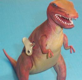 bandai dinosaur model