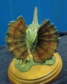 Jurassic Park dinosaur model