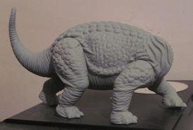 spiked dinosaur model