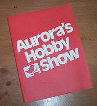 Aurora 1971 model catalog supliment