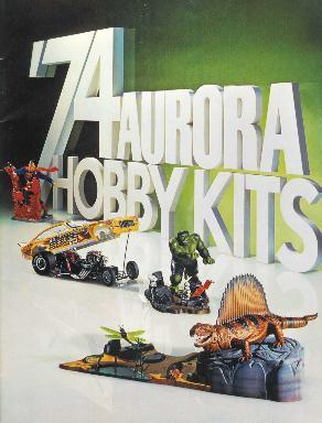 Aurora 1974 model catalog