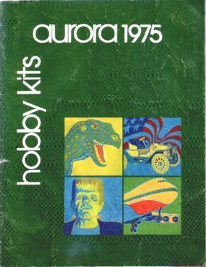 Aurora 1975 model catalog