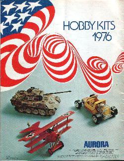 Aurora 1976 model catalog