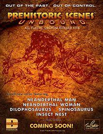 Dencomm Prehistoric Scenes kits