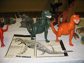 Prehistoric Scenes display