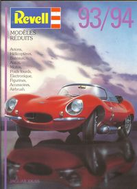 Revell-Germany 1992 catalog
