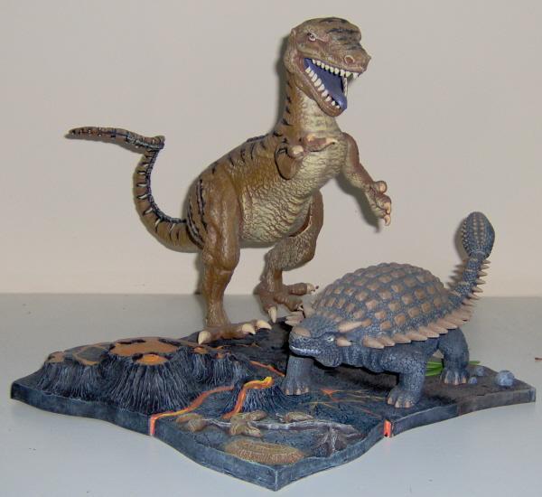allosaurus armored dinosaur