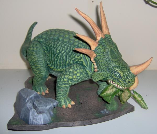spiked dinosaur