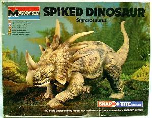 Monogram '79 spiked dinosaur box