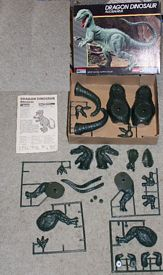 Monogram allosaurus dinosaur model