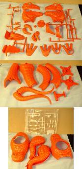 trex model parts
