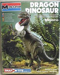 Monogram 1979 Allosaurus model box