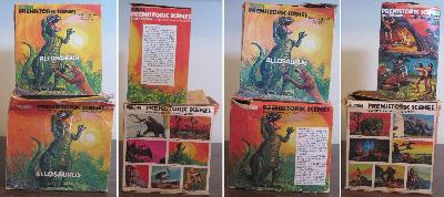 Aurora Allosaurus model box
