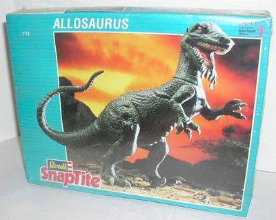 Revell 1993 Allosaurus model box