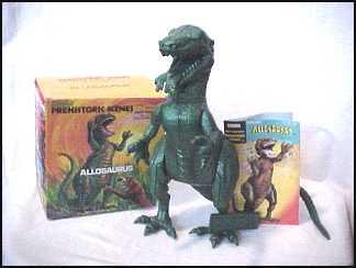 Aurora 1971 Allosaurus model