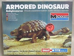 Monogram 80 Armored dinosaur model box
