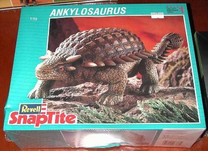Revell 93 Armored dinosaur model box