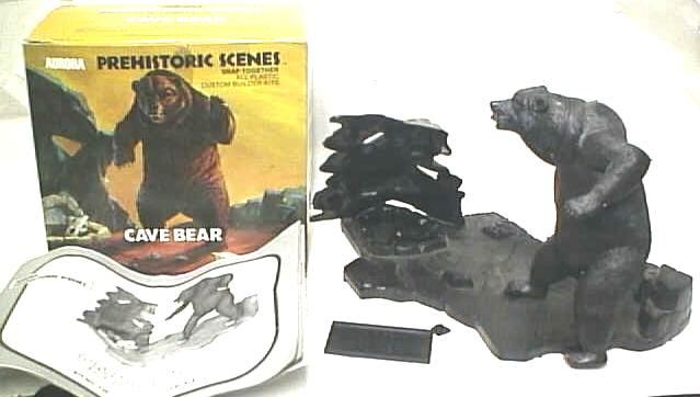 Aurora Cave Bear model