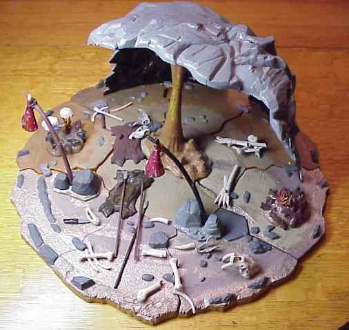 Aurora cave model