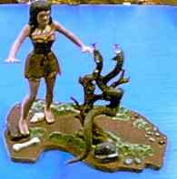 my cromagnon woman model kit
