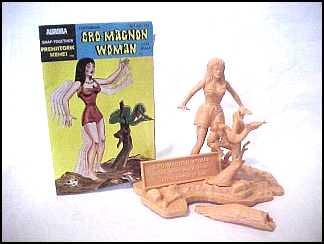 cromagnon woman model kit