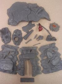 aurora cave model parts
