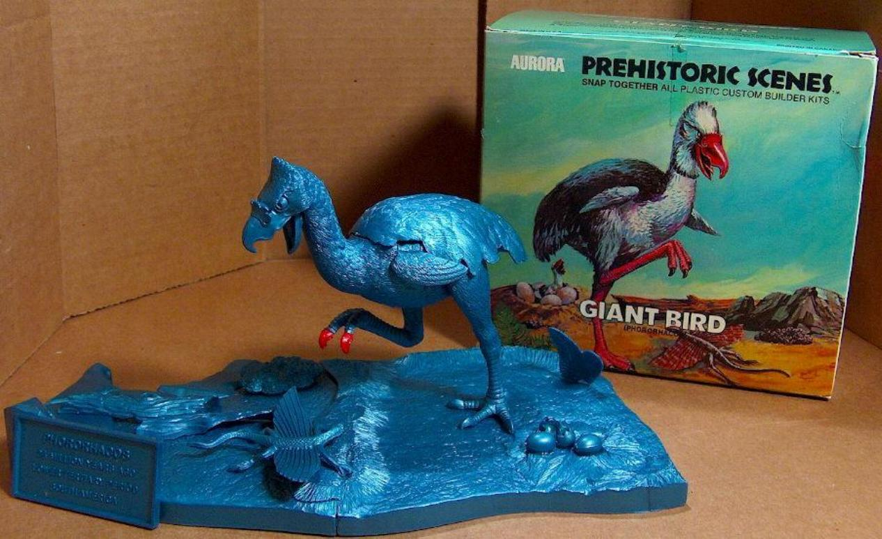 Aurora Prehistoric Scenes Models - Giant Bird