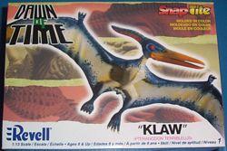 Revell 2007 flying reptile dinosaur model box