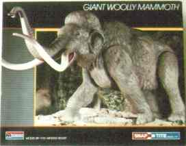 Monogram 1987 mammoth model box