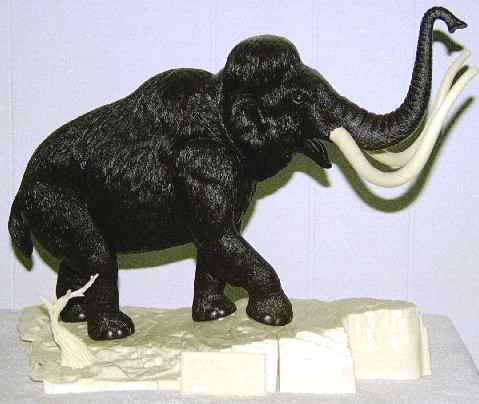 Aurora mammoth model kit
