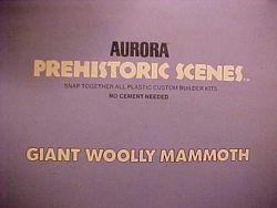 Aurora mammoth model