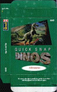 allosaurus mini dinosaur