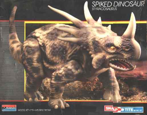 Monogram '87 spiked dinosaur box