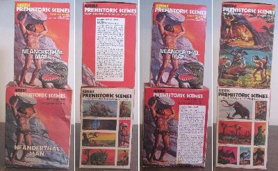 Aurora Neanderthal Man model box