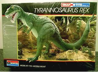 Monogram 1987 tyrannosaurus box