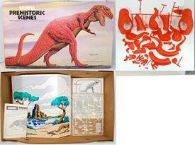 tyrannosaurus model backdrop