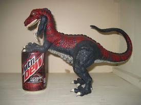 Revell 2007 allosaurus dinosaur model