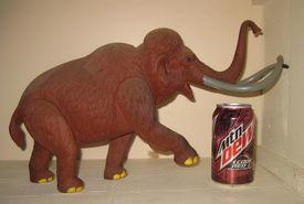 Revell mammoth dinosaur model