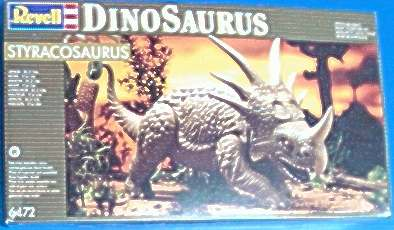 Revell-Germany 1993 spiked dinosaur box