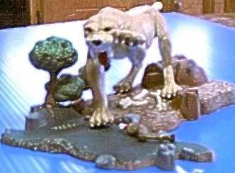my sabertooth tiger model