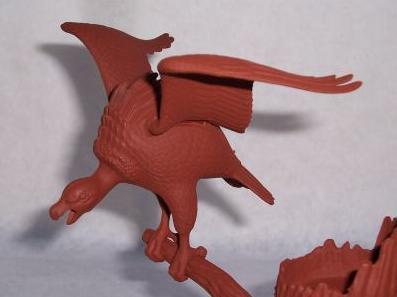 tar pit model vulture