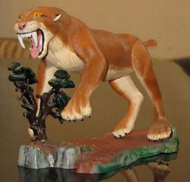 sabertooth tiger model option