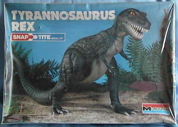 Monogram '79 tyrannosaurus box
