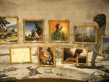 Aurora art on display