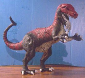 allosaurus build up