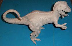 allosaurus build up